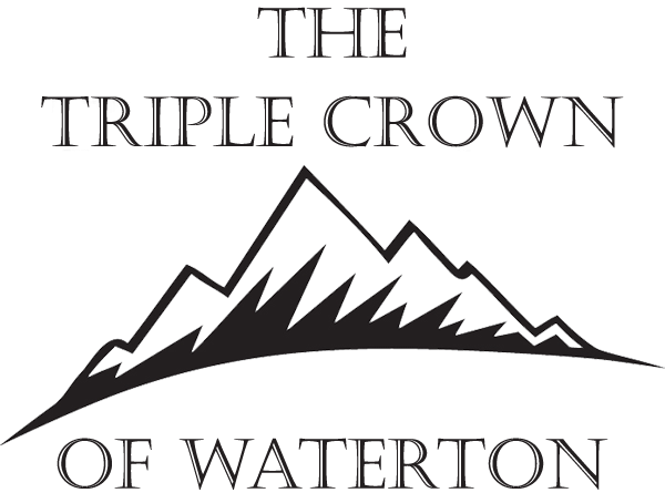 The Triple Crown of Waterton logo