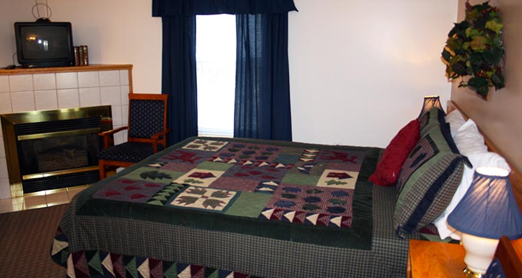 A image of the One Bed Standard room at Cradnell