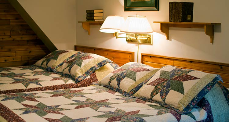 A image of the Two Double Bed Standard room at Cradnell